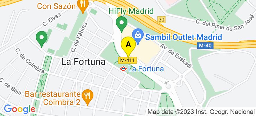 situacion en el mapa de . Direccion: Calle La Fuente, 21004 Madrid. Madrid