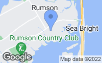 Map of Rumson, NJ