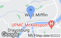 Map of West Mifflin, PA