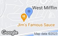 Map of West Mifflin, PA