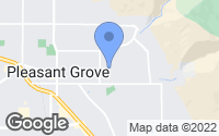 Map of Pleasant Grove, UT