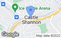 Map of Castle Shannon, PA