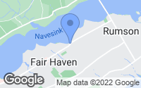 Map of Fair Haven, NJ