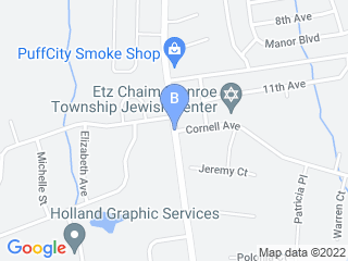 Map of Sycamore Acres Dog Boarding options in Monroe | Boarding