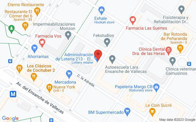 Administración nº213 de Madrid