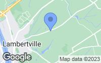 Map of Lambertville, NJ