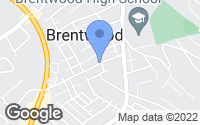 Map of Brentwood, PA