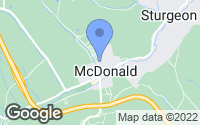 Map of McDonald, PA