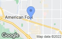 Map of American Fork, UT