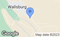 Map of Wallsburg, UT