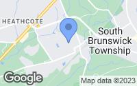 Map of South Brunswick Township, NJ