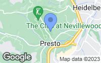 Map of Presto, PA