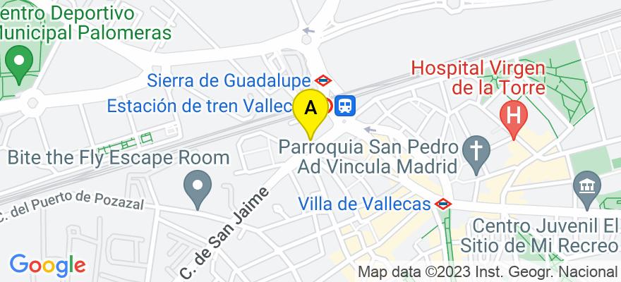 situacion en el mapa de . Direccion: PLAZA SAN JAIME,2, 28031 Madrid. Madrid