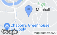 Map of Munhall, PA