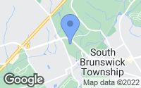 Map of South Brunswick Township, NJ