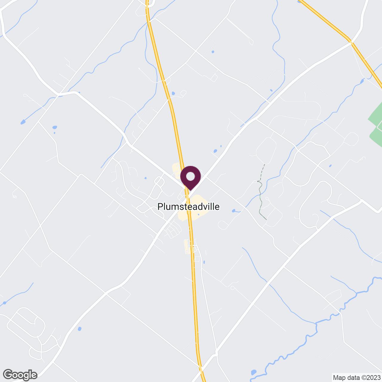 Google Maps static image of Bucks County