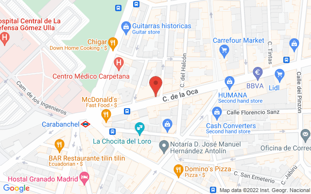 Administración nº303 de Madrid