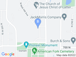 Map of Pawsitively Purrfect Pet Sitting Dog Boarding options in American Fork | Boarding