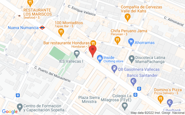 Administración nº166 de Madrid