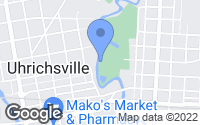 Map of Uhrichsville, OH