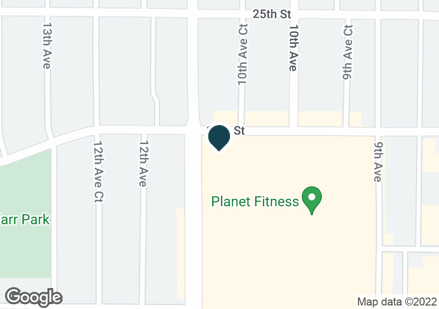 Google Map of2600 11TH AVE