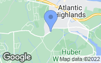 Map of Atlantic Highlands, NJ