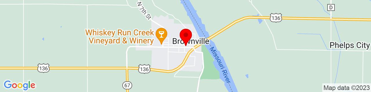 Google Map of 40.3977793, -95.6580455