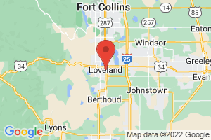 Map of Loveland