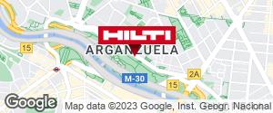Obtener indicaciones para Tienda Hilti-Madrid (Yeserias)