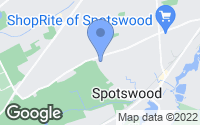 Map of Spotswood, NJ