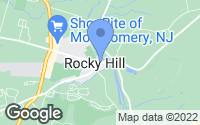 Map of Rocky Hill, NJ