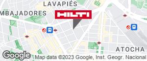 Tienda Hilti - Madrid (Atocha)