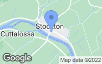 Map of Stockton, NJ