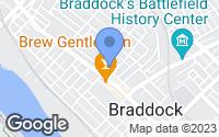 Map of Braddock, PA