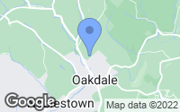 Map of Oakdale, PA