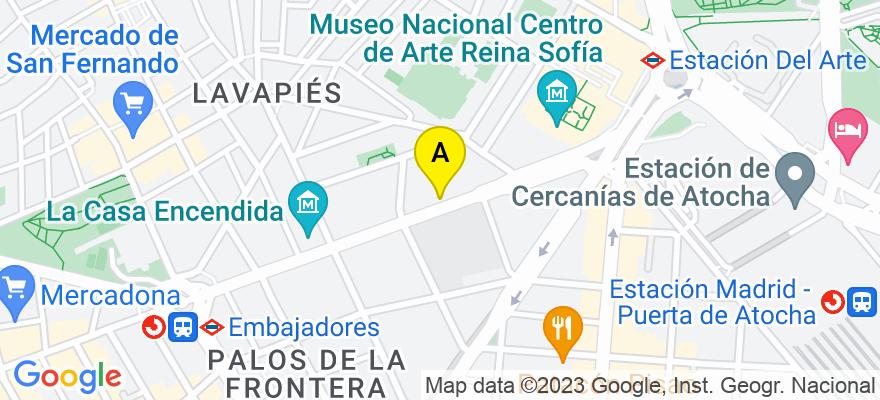 situacion en el mapa de . Direccion: ROS), 28004 Madrid. Madrid