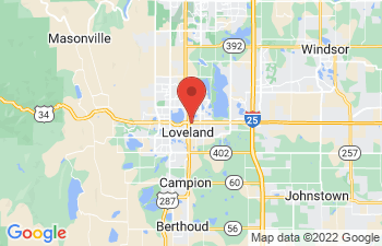 Map of Loveland
