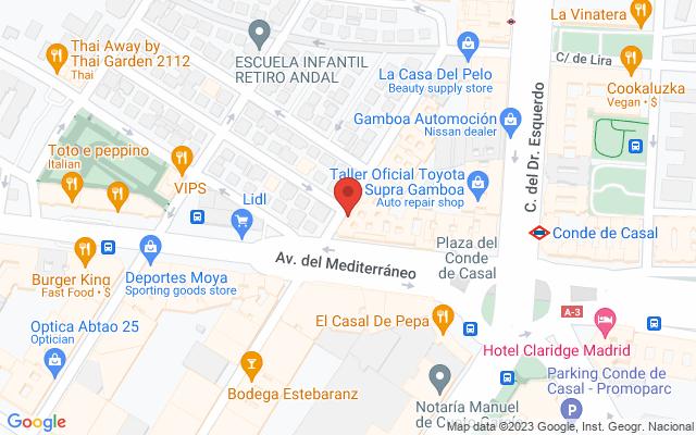 Administración nº269 de Madrid