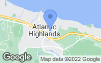 Map of Atlantic Highlands, NJ