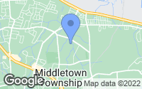Map of Middletown, NJ