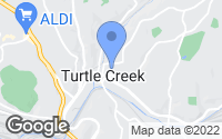 Map of Turtle Creek, PA