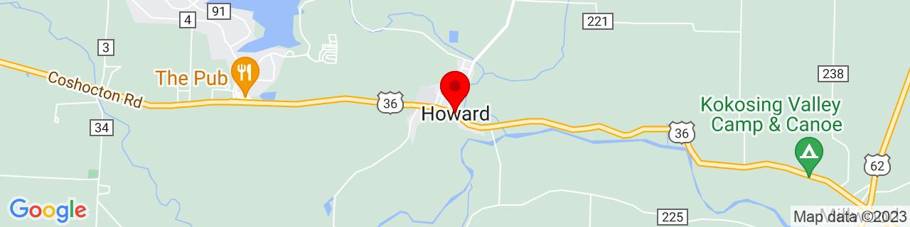 Google Map of 40.4077183, -82.3263709