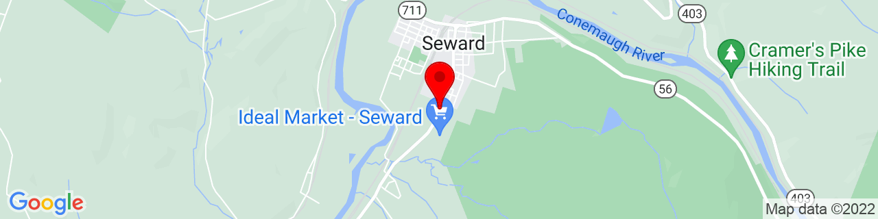 Google Map of 40.40788810000001, -79.0218557