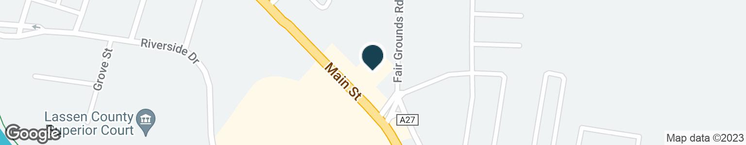 Google Map of2875 MAIN ST