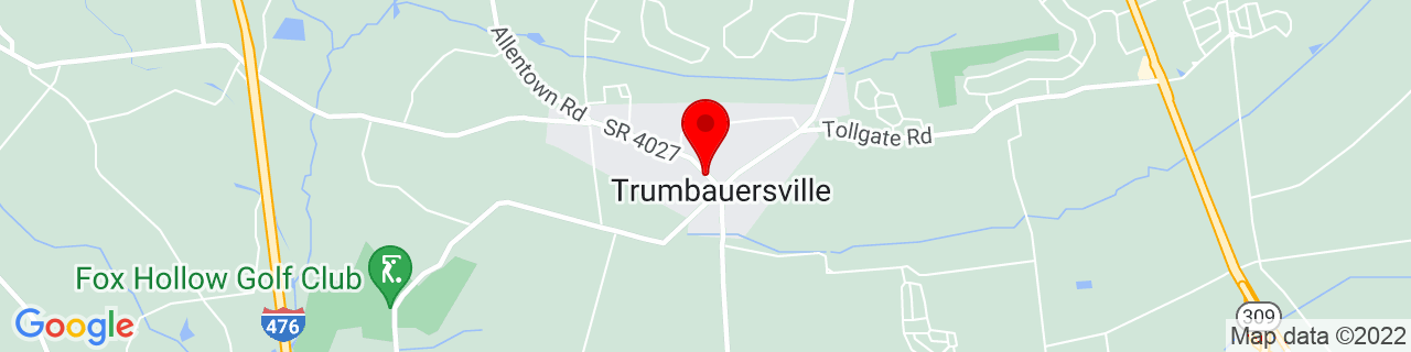 Google Map of 40.4115318, -75.3793968