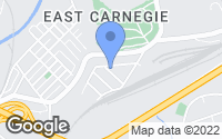 Map of Carnegie, PA
