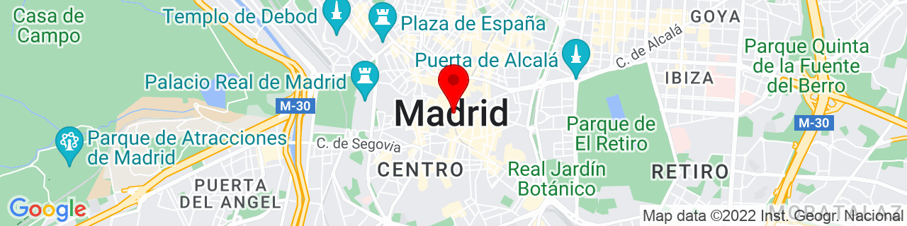 Google Map of 40.4167047, -3.7035825