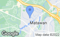 Map of Matawan, NJ