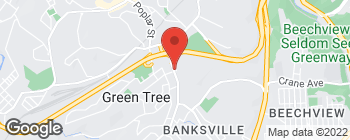 Map of 975 Greentree Rd in Pittsburgh