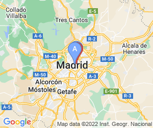 Karte für Hotel H10 Puerta de Alcalá